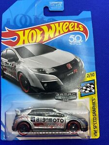 Hot Wheels Zamac 2016 Honda Civic Type R