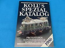 KOLL's SPEZIAL Katalog Märklin OO/HO 1986 D.