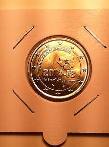 2 EURO BELGIQUE 2014 1ère GUERRE MONDIALE COMMEMORATIVE NEUVE