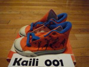 Nike Hoop High Pro (PS) Size 11c 7906 Orange 1987 Baby Kid OG B
