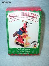 "1998 Hallmark Merry Miniatures Figurine ""Disney-Goofy'S Caboose"" In Box"