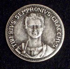 MEDAGLIA - TIBERIUS SEMPRONIUS GRACCHUS - LE GRANDI FIGURE DI ROMA - 1980