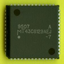 6× MT43C8129A TRIPLE‑PORT VIDEO RAM 128Kx8/256x8 130/22ns 5V PLCC-52 DRAM VRAM †