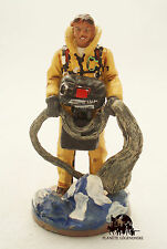 Figurine Del Prado Sapeur Pompier Smoke Jumper Etats Unis 2003 Figure