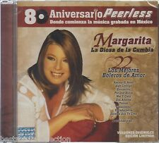 Margarita La Diosa De La Cumbia CD NEW 22 Boleros 80 Aniversario PEERLESS SEALED