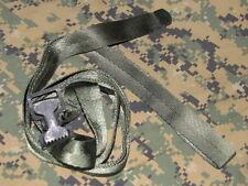 "1"" nylon canvas strap lashing 108"" long w/ aligator jeep hummer NOS military"