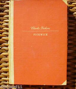 Pickwick, Charles Dickens, Tomo II, Ediciones Lauro, año 1943, Primera edición