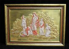 Boehm Plaque of Finding of Moses Limited  Number 1  Signed Extremely Rare