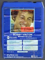 BOBBY VINTON MELODIES OF LOVE - 1974 ABC RECORDS 8 TRACK TAPE 8022-851-H