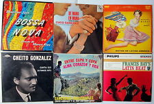 LATIN MIX of 14 LP's; Instrumental, BOLERO, Mariachi, FLAMENCO Lot #7887