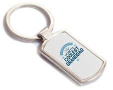 Granddad Gift Birthday Key Ring Personalised To Be Present Fathers Day Idea