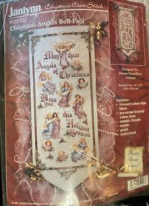 Janlynn Christmas Angels Bell Pull Cross Stitch 125-222 Donna Vermillion Giampa