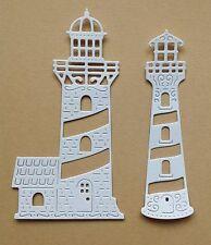 Cheery Lynn Fancy Lighthouse Die-Cuts (white)