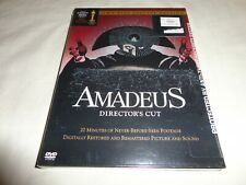 Amadeus - Directors Cut (Dvd, 2002, 2-Disc Set, Two-Disc Special Edition) New