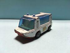 Diecast Matchbox Stretcha Fetcha Ambulance 1971 White Wear & Tear Good Condition
