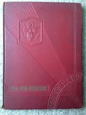 1942 US ARMY 79th FIELD ARTILLERY YEARBOOK, WWII, WORLD WAR II, FORT BRAGG, NC