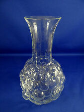 Kosta Boda Grapes Kosgrap Glass Decanter Sweden Ann Warff Rare