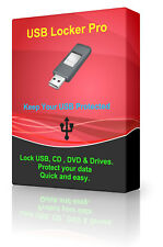 USB Encryption Software Password Protected Unmountable DVD CD Disc Locker AES