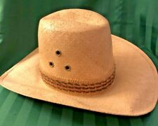 NEW Bailey U-rollit New West, Straw Cowboy Hat, Sz 7