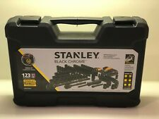 Stanley Universal Mechanics Tool Set Black Chrome 123-Piece STMT72254W ~ BNIB
