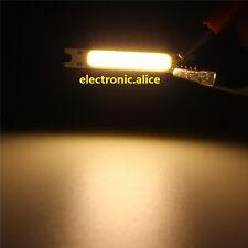5/10x 3W White COB High Power LED Stripe LED Light Emitting Diode Panel 12V