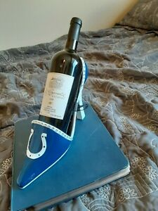 Indianapolis Colts High Heel Shoe Wine Bottle Holder