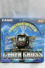 Rare CASIO Vintage Item JG-100 Cyber Cross Game Watch From Japan Free Shipping