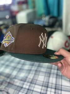 exclusive new york yankee beef broccoli world series fitted cap 7 5/8 Forest