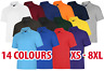 Mens & Womens Deluxe Polo Shirt Short Sleeve Work Strong Tough Casual Top Lot