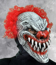 Big Smile Evil Scary Clown Latex  Adult Halloween Mask