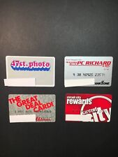 4 Expired Credit Cards For Collectors - Electronics Lot 1 (3261)