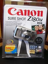 NEW Sealed Canon Sure Shot Z180u 35mm Film Point & Shoot Date Camera