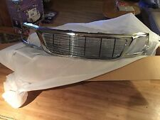99-03 Ford F-150 & Expedition All Metal Chrome Grille Shell w Billet Insert RDX