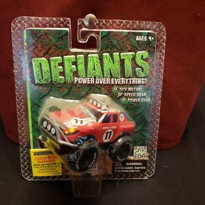 2013 Sealed DEFIANTS Red 4X4 Monster STOMPER #11 MARTINSON RACING Rednex v Rally