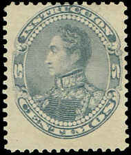 Scott # 128 - 1893 - ' Simon Bolivar '