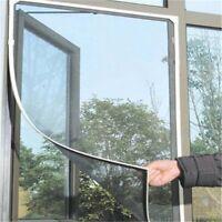 Rideau Moustiquaire Fenêtre Écran Porte Filet Anti-moustique Insect Auto Adhésif