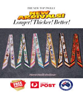 AMIGO Multi-Use Mini Scarf Twilly Wrist Head Band Bag Ribbon Bow Tie Wrap S90