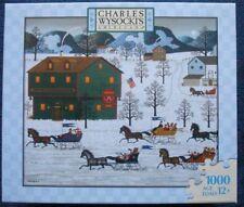 Charles Wysocki's Americana 1000 pc Jigsaw Puzzle ❤ Country Race ❤ SEALED 2007