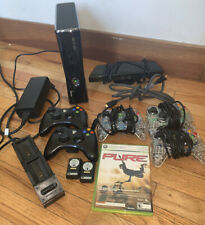 Xbox 360 Bundle Adapter Console Wireless Wired Controllers Kinect Pure Game