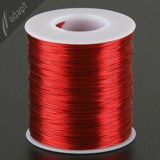 23 AWG Gauge Magnet Wire Red 625' 200C Enameled Copper Coil Winding
