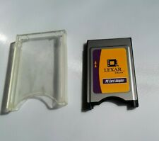 Lexar PC Card Adapter, Compact Flash card to PCMCIA Laptop slot