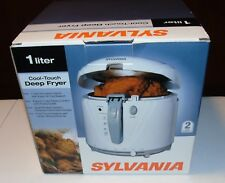 Sylvania 1 Liter Cool-Touch Deep FRYER Kitchen Appliance USED ONCE FOR DEMO