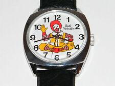 Mc Donald's,Clown,Reklame,Werbung,Uhr,Handaufzug,Unisex,Armbanduhr,Wrist Watch