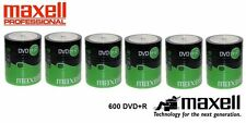 600 Maxell DVD+R 4.7 GB (16x) Shrink Wrap 6 x 100