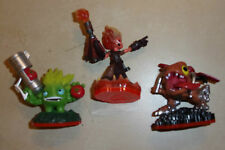 3 X Skylanders Trap Team Figurines Bataille alimentaire + Torche Core + Hachoir wii ps3 xbox