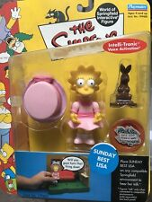 THE SIMPSONS World of Springfield WOS Sunday Best Lisa SERIES 9 Action Figure