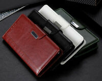 Luxury Folio Wallet Leather Flip Case Cover For Huawei P30 Lite Y7 2019 Y6 2019