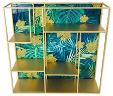 Floating Wall Hanging Storage Display Shelf Unit Shelves Floating Cabinet Metal