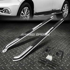 """FOR 13-20 NISSAN PATHFINDER CHROME STAINLESS 3"""" SIDE STEP NERF BAR RUNNING BOARD"""