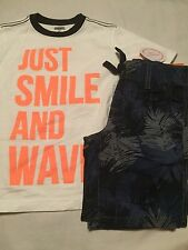 Gymboree Surf Wagon Boys Outfit Size 3T Just Smile And Wave Nwt